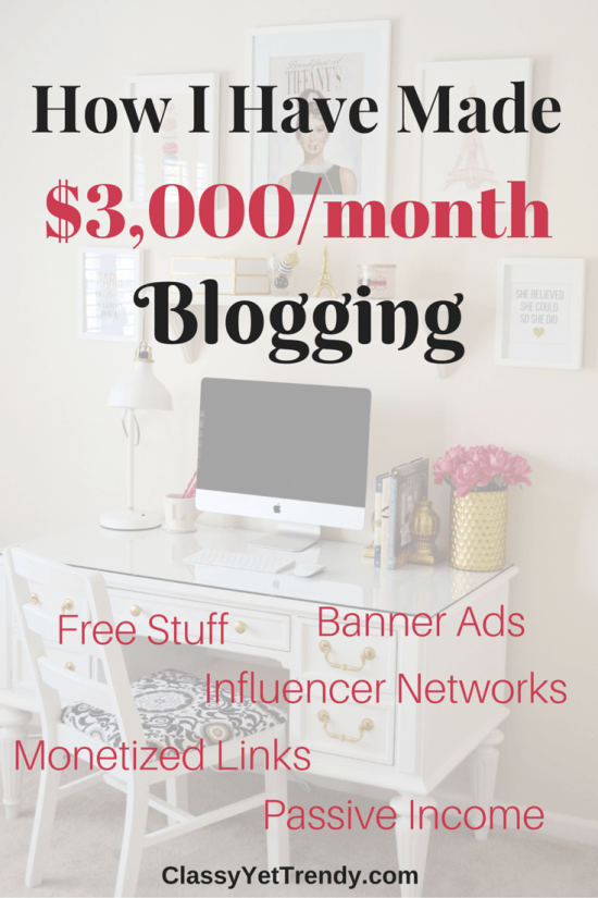 How I Have Made ,000 From My Blog