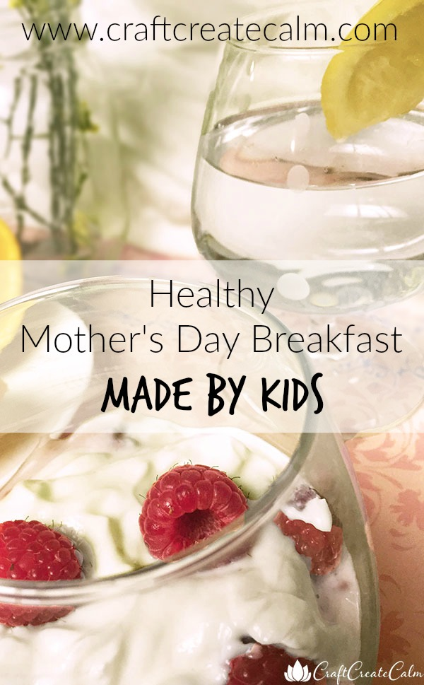 a healthy Mother's Day breakfast