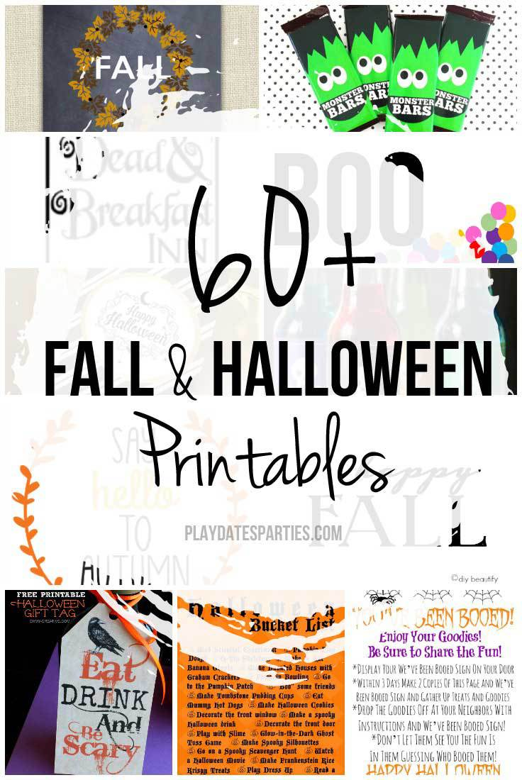 Take a look at the best Halloween Printables of 2015, including printables for school gifts, decorating, or just for fun!