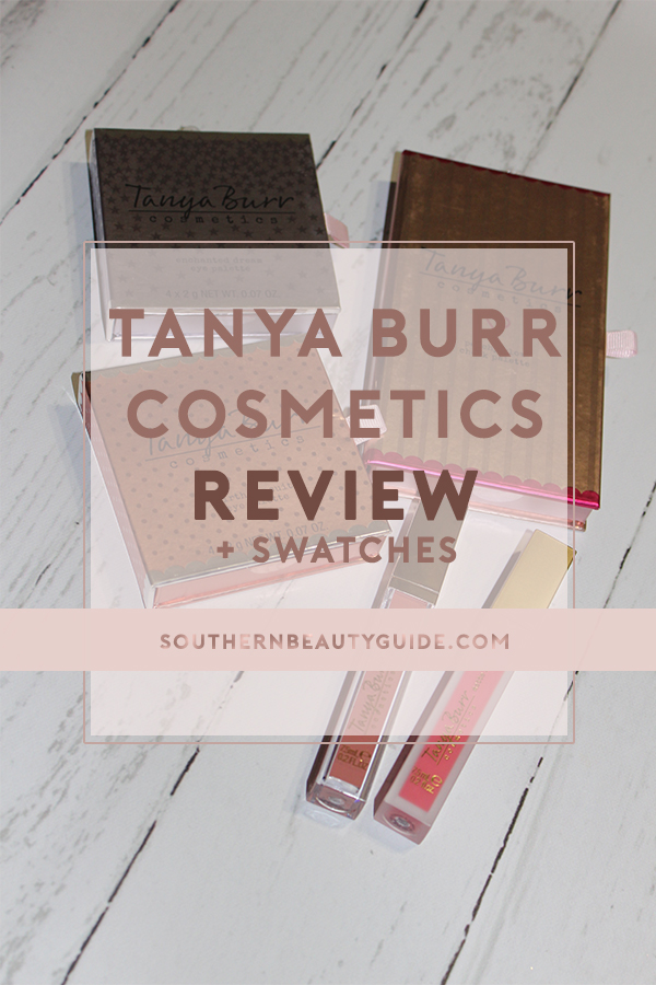 Tanya Burr Cosmetics Review + Swatches!