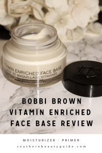Bobbi Brown Vitamin Enriched Face Base Review!