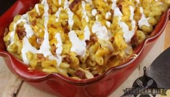 Nana's Hoop Cheese Macaroni and Cheese - Southern Bite