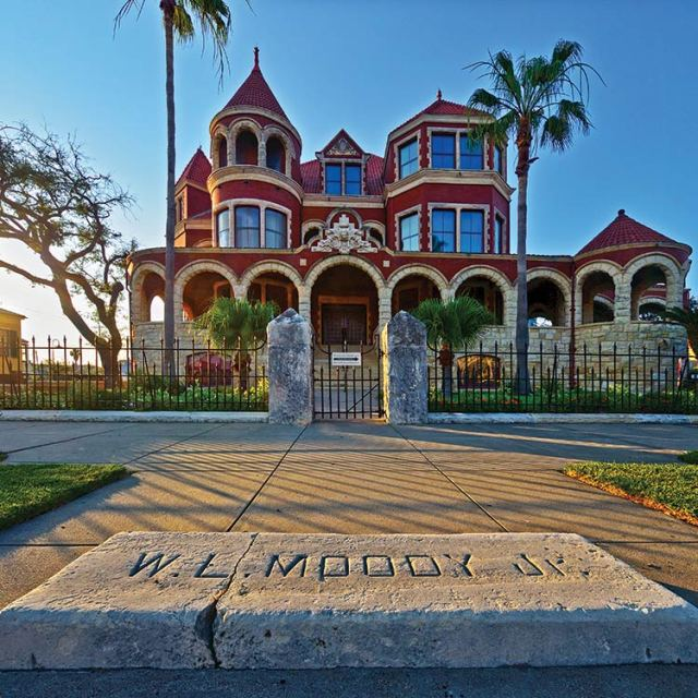 Moody Mansion was built in 1895 and offers tours. Photo: Galveston Island CVB