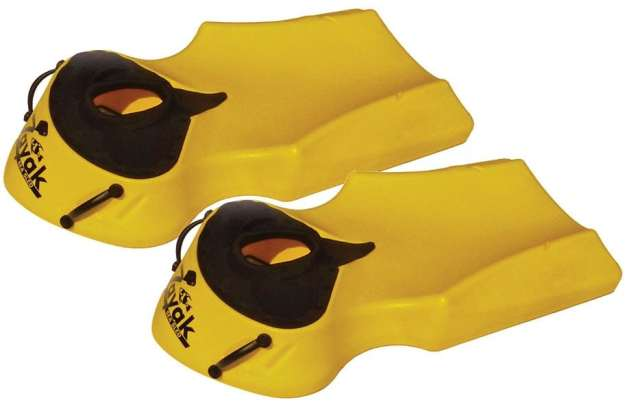The Zayak Sea Sled has handles and a ventilated neoprene dry mask that helps eliminates glare.