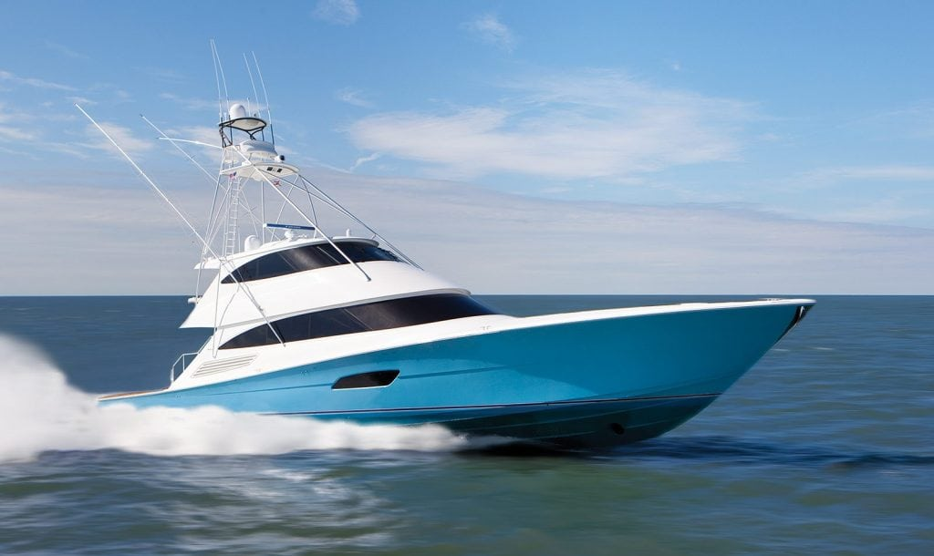 The viking eb 92 from viking yachts southern boating for Viking sport fish