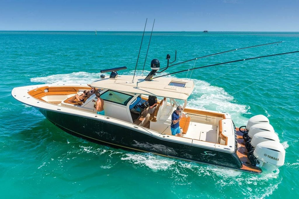 Scout s new 420 lxf southern boating for New fishing boats