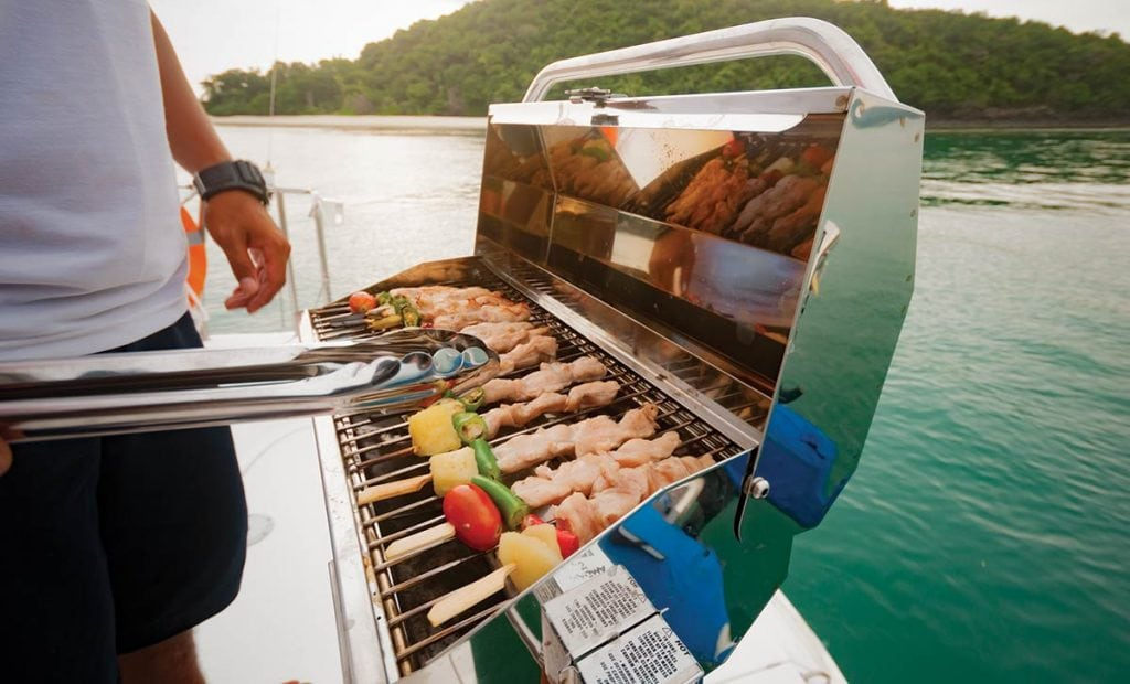 Grill Safety Southern Boating