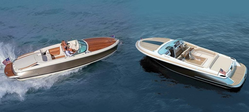 Chris craft 39 s pair of aces southern boating for Chris craft capri 25