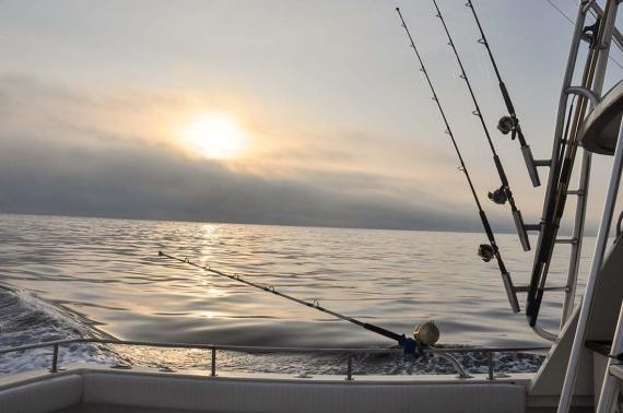 Snook Season Tips, Snook Fishing, The sun rises over the waters of Panama City. Taken on a tagging trip, April 3, 2012, by Amanda Nalley.