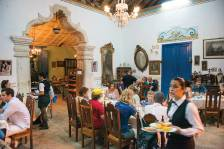 A restaurant in the colonial town of Trinidad