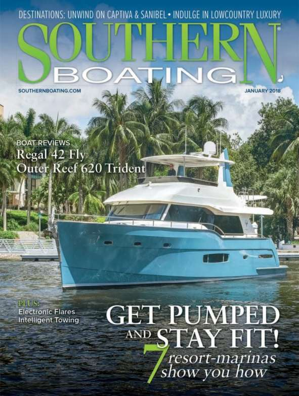 January 2018 Southern Boating Cover