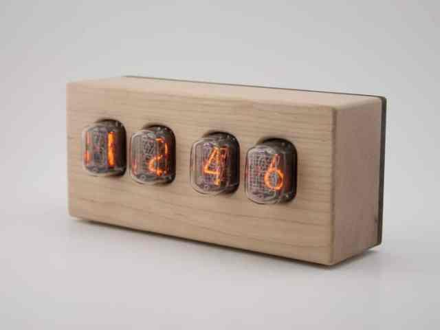 Tungsten Customs Nixie Epoch Clock