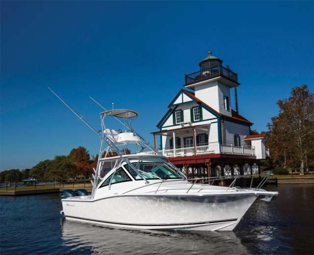 albemarle 29 Express, ideal for fishing and family