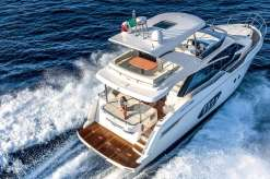 Absolute 50 Fly running shot, aft view,