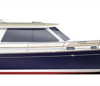 Bruckmann Abaco 47, Downeast Boats Roundup, Top Downeast boats, 16 Downeast boats, lobster boats, maine-style, high-end, heritage,