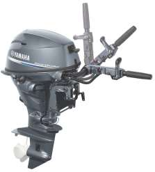 Yahmaha, the latest in outboards, power products
