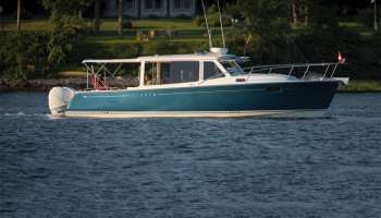 MJM Yachts 35z, Downeast Boats Roundup, Top Downeast boats, 16 Downeast boats, lobster boats, maine-style, high-end, heritage,