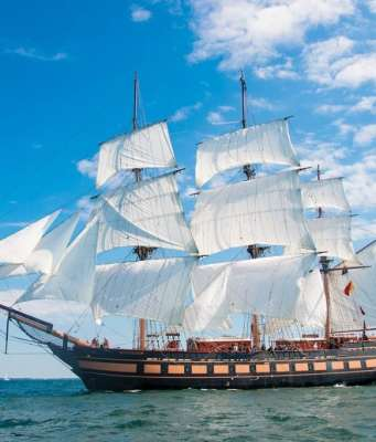 Tall Ships pride and joy the Oliver Perry Hazard