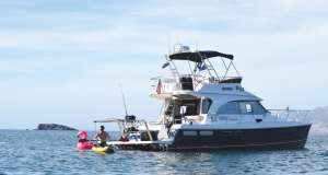 The Aspen C120 is the ideal power catamaran for cruising