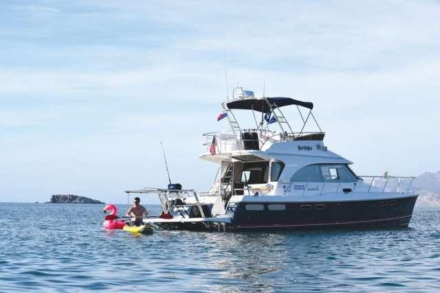The Aspen C120 is the ideal power catamaran for cruising