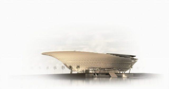 An artists' rendering of the new Mote Marine Aquarium