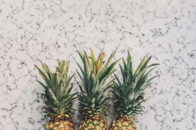 an image of three pineapple