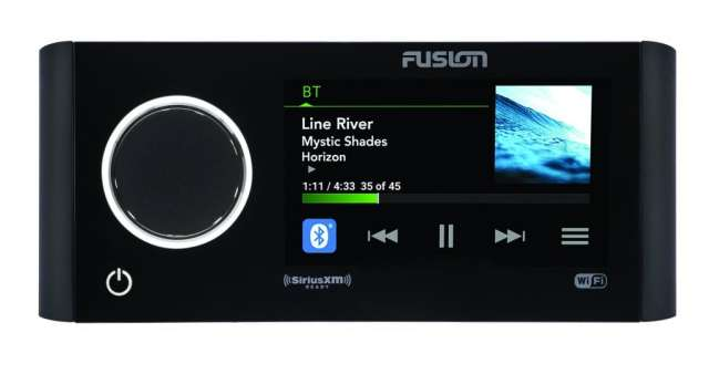 FUSION Entertainment new marine audio equipment