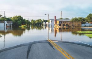 an image ofFlooded Road from rising seas