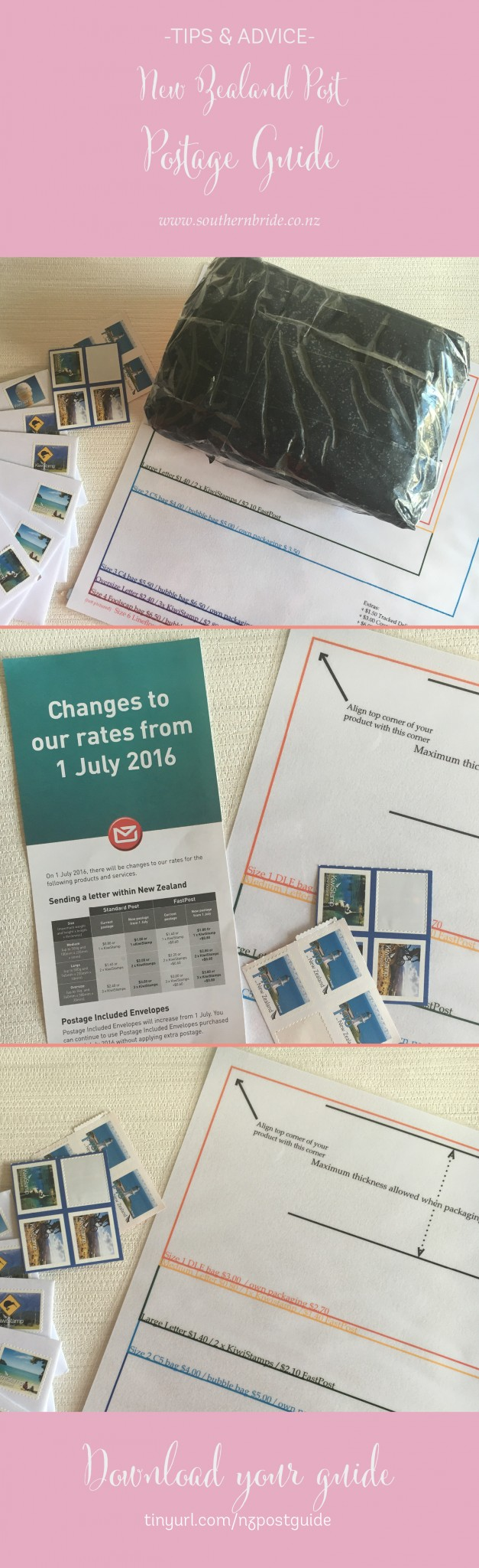 nz post printable letter guide