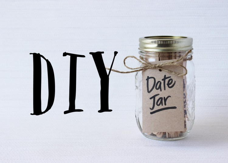 DIY Date Jar Instructions