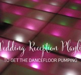 Playlists for a pumping wedding reception