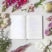 A - sm - little white book wedding organiser diary