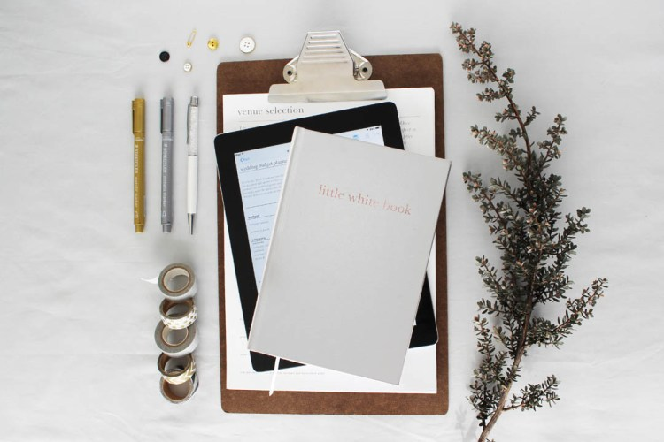 Little White Wedding Planning Bundle Stacked