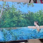 Roger Gordon - Pool, oils