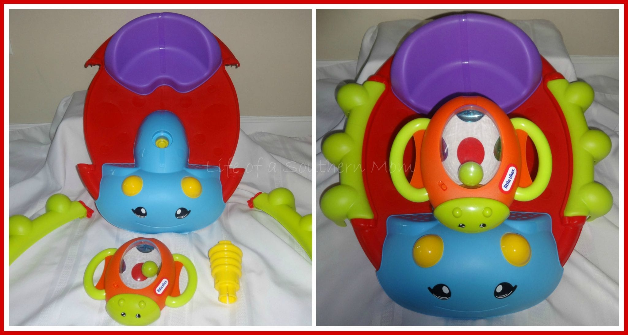 Little Tikes Activity Garden Rock N Spin Review