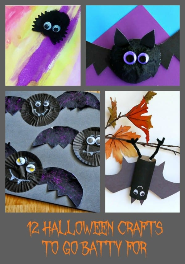 12 Halloween Crafts to Go Batty For