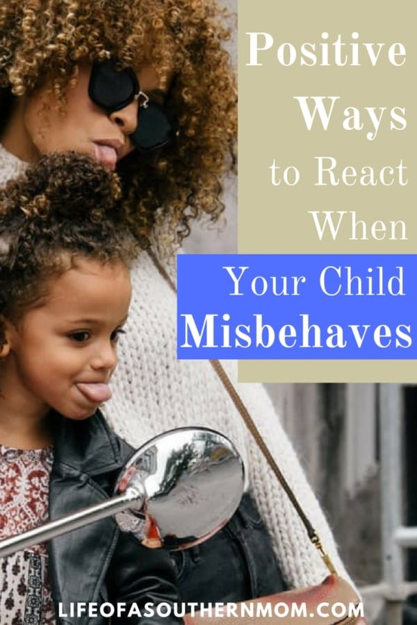 As parents, it's our job to teach our children how to navigate the world around them. Reacting negatively to misbehavior can affect your kids during their childhood and later when they become parents themselves. Stay firm, patient and positive and your kids will develop positive habits too.