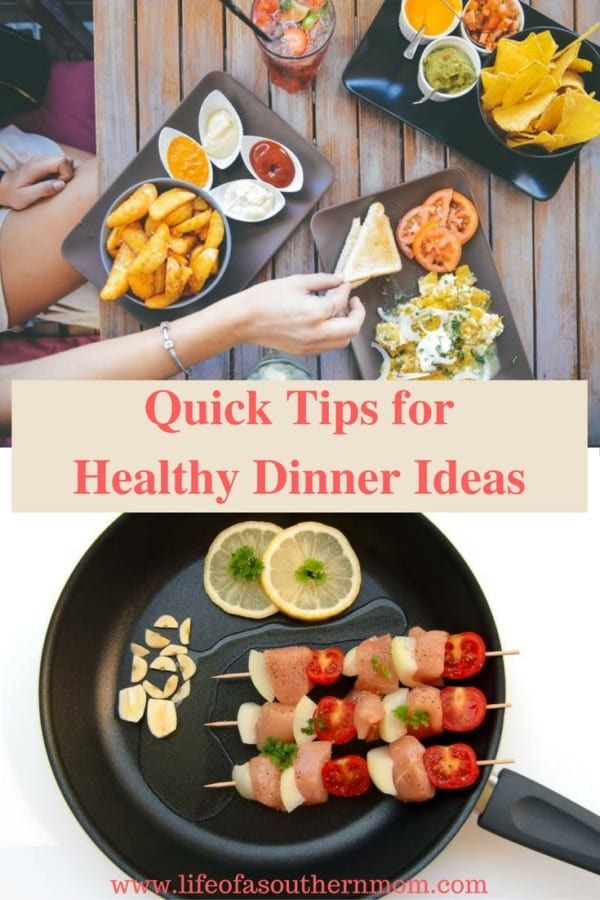 When it comes time to make a healthy meal for your family, you don't need to spend a lot of time or energy. There are ways to make nutritious meals that are well-balanced, delicious, and won't take all day and night to prepare. Even on the busiest nights, the following healthy dinner ideas will be easy for you to accomplish.