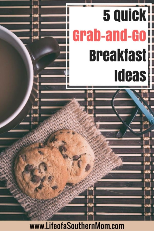 Here are some grab-and-go breakfasts you can prepare.