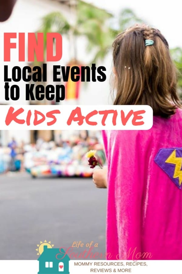 If you are struggling to keep your kids active and make sure they get enough exercise, you might want to consider looking for some local events. These not only provide physical fitness for the kids, but can be more enjoyable as wel