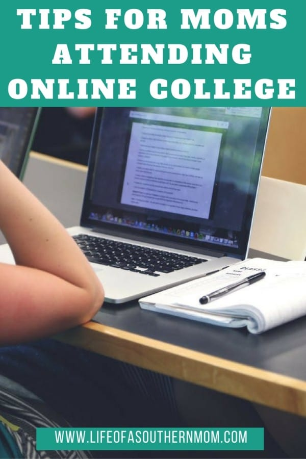 Here are a few tips for moms thinking of pursuing an online college course