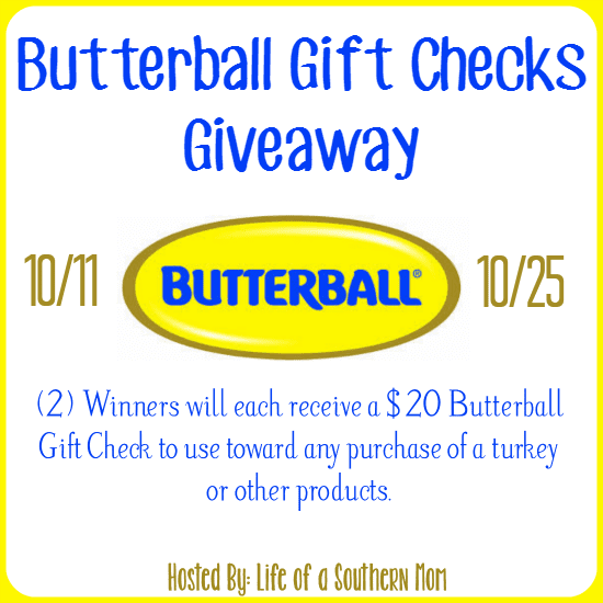 Butterball Giveaway