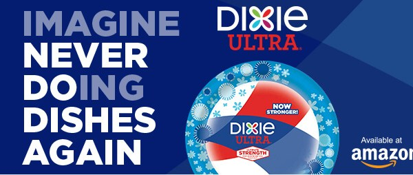 One Day Only! Get 20% Off Dixie Ultra® on No Dirty Dishes Day!