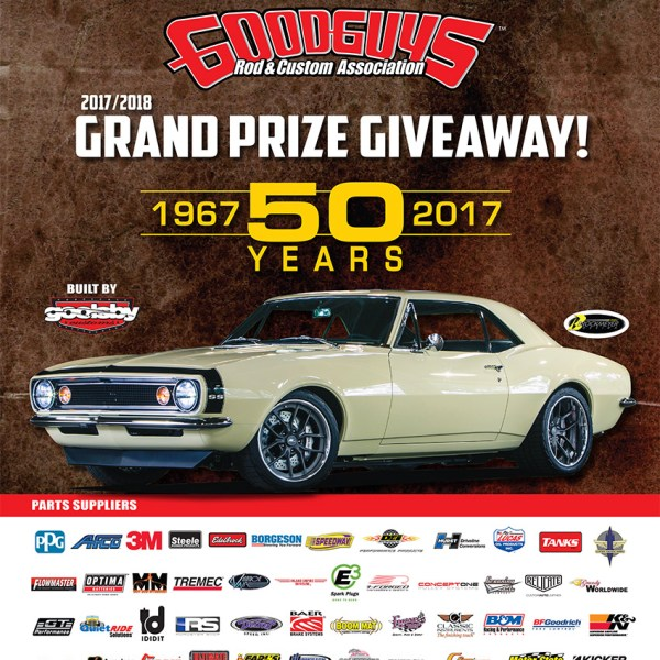Enter to win a 1967 Camaro