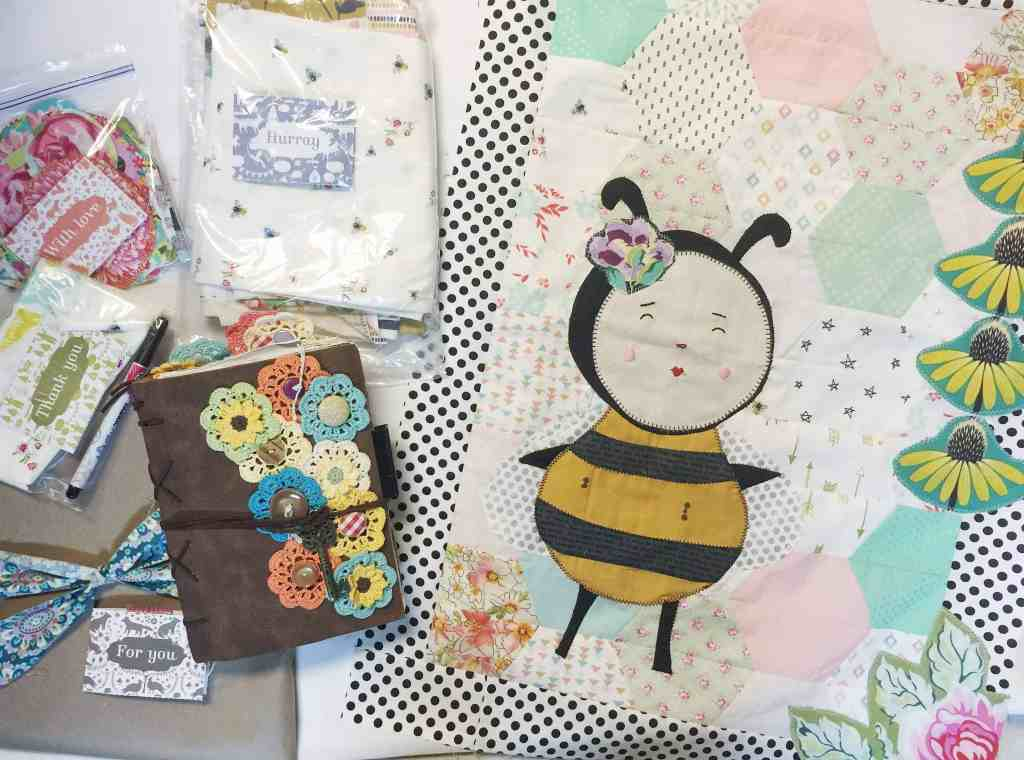 Wandering Quilt – honey bee quilt – the Journal, mine