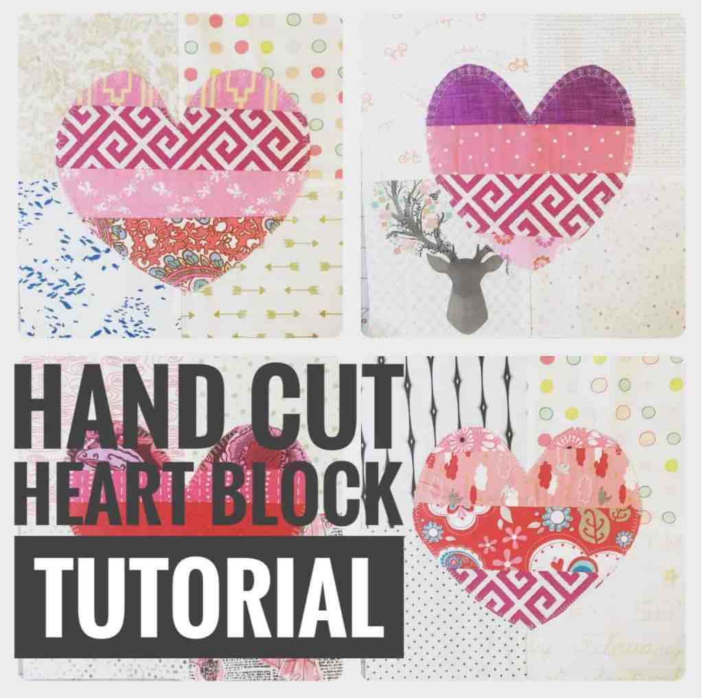 Hand Cut Heart Block Tutorial