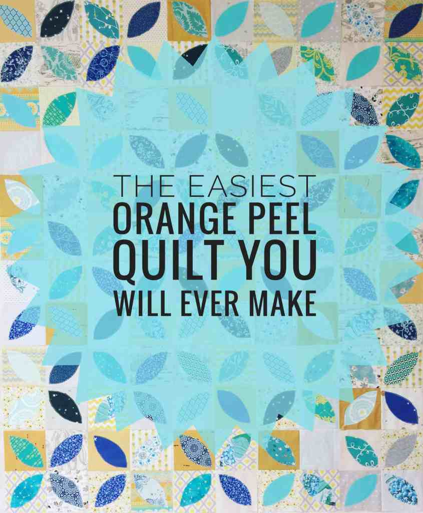 Orange Peel Quilt Tutorial