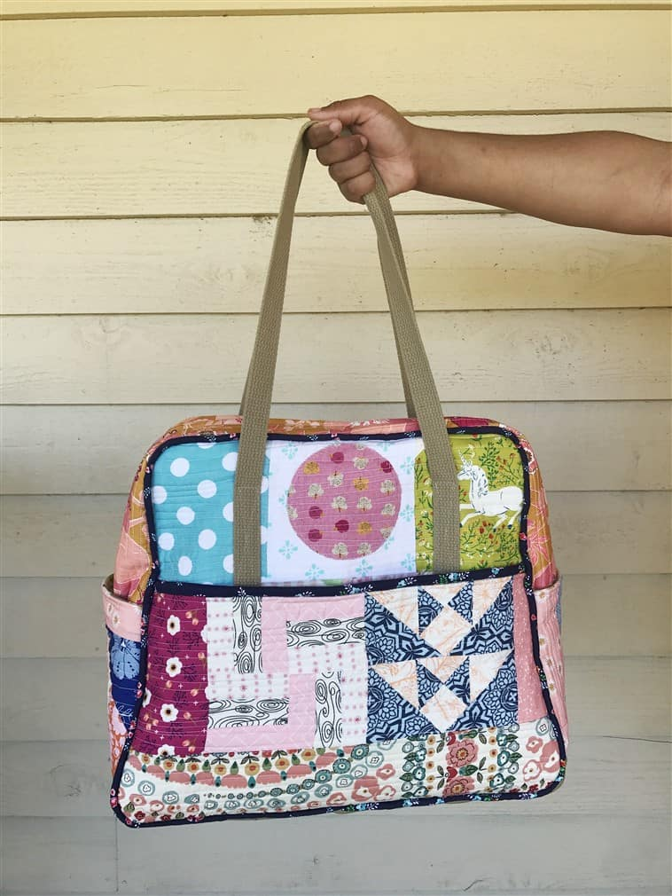 Reveal & Pattern Review – Amy Butler's The Weekender travel bag
