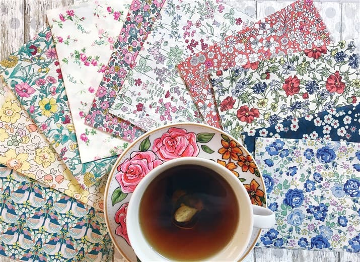 Monday is all about fabric – #18 – June's Liberty Society