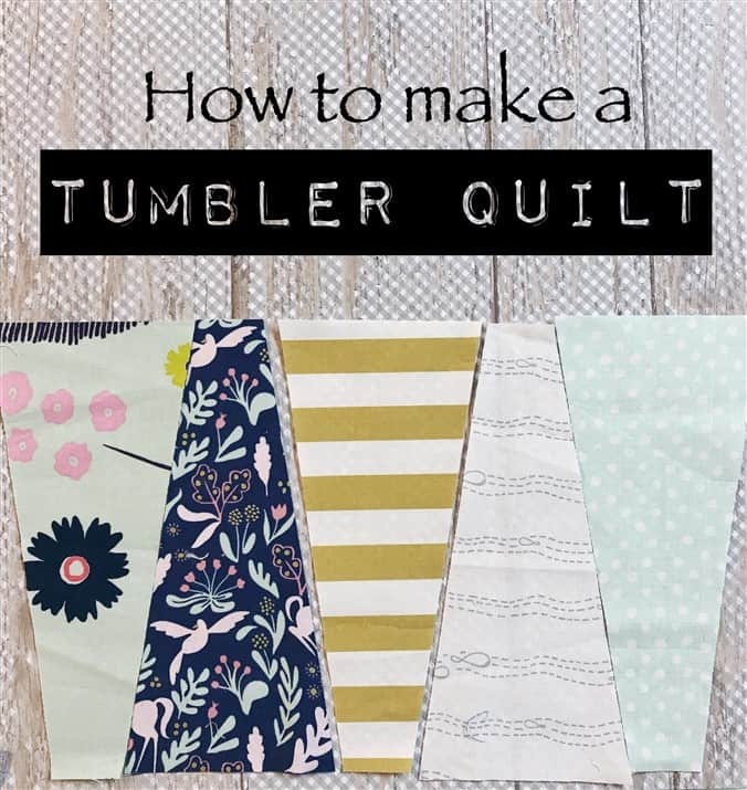The Rescue Quilts – #1 – A Tumbler Quilt – the find and the pattern